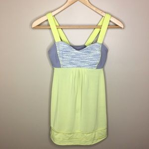 Lululemon Run Back on Track Tank Size 4 Athletic